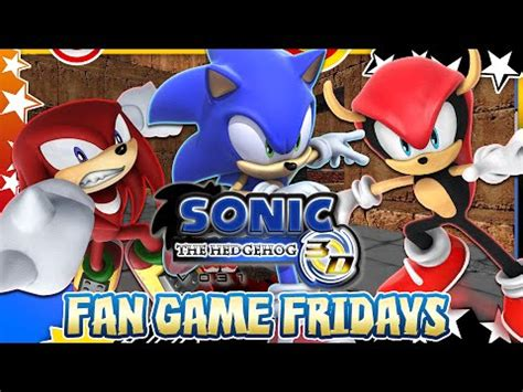 sonic fan games online vdyoutube download video quot fan game fridays sonic the