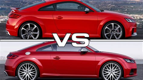 2017 Audi Tt Rs Coupe Vs Audi Tts Coupe