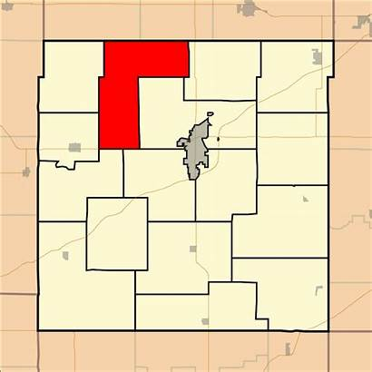 Franklin County Kansas Township Map Centropolis Svg