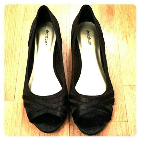 dress barn shoes 47 dressbarn shoes dressbarn black peep toe wedges