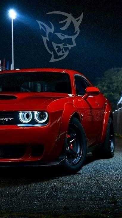 Demon Dodge Wallpapers Challenger Zedge Srt Hellcat