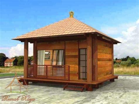desain rumah kayu sederhana kecil desain rumah minimalis