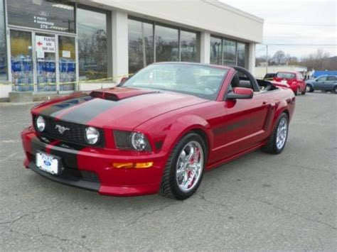 ford mustang gtcs california special convertible