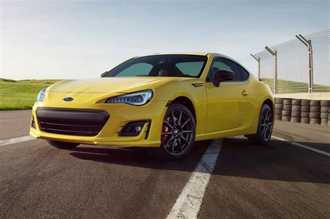 2017 Subaru Brz Series.yellow Unveiled, Limited To 500