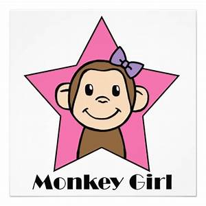 Girl Monkey Clip Art - Cliparts.co