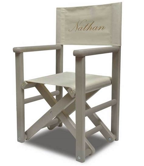fauteuil de metteur en fauteuil enfant metteur en sc 232 ne gris brod 233 diabolokids diabolokids jouet meuble et deco en
