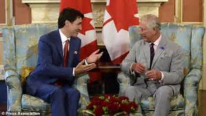 Charles meets Canada's Justin Trudeau ahead Canada day ...