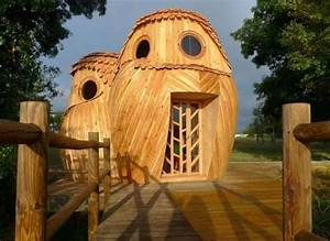 The 12 strangest houses from around the world for Owl shaped cabin