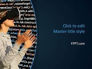 fun google slides themes free vr powerpoint template free powerpoint templates
