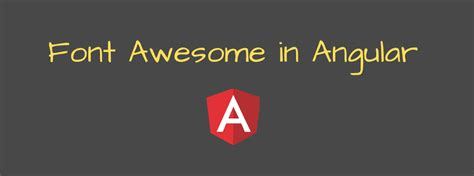 The next generation of the web's favorite icon library + toolkit is now available as a beta release! How to install Font Awesome in Angular in 2020 | Angular ...