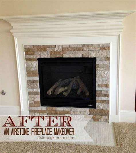 airstone fireplace fireplace makeover using airstone simplykierste