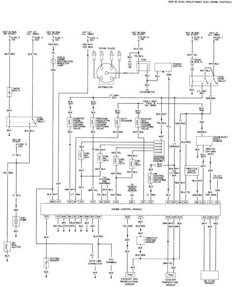 1988 Isuzu Wiring Diagram by Repair Guides Wiring Diagrams Wiring Diagrams