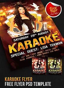 Flyer Word Template Free 24 Awesome Karaoke Flyer Templates Creatives Psd
