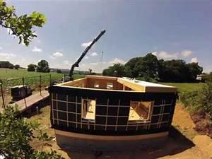 Maison Pop House : montage d 39 une maison popup house de 100m youtube ~ Melissatoandfro.com Idées de Décoration