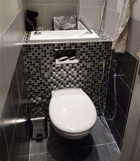 douchette pour wc suspendu astus gain de place toilet