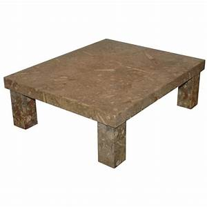 fossil stone coffee table at 1stdibs With fossil coffee table