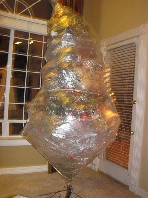 Saran Wrap Christmas Tree For Storage 28 saran wrap christmas tree can you saran wrap