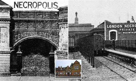 century london necropolis railway train built