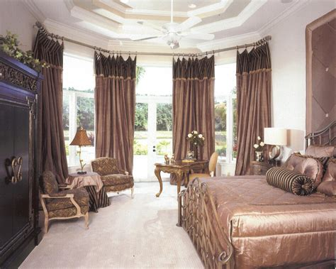 Gardinen Ideen Schlafzimmer by How Dazzling Master Bedroom Curtain Ideas Atzine
