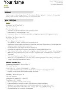 resume templates free download 2017 2018 dentist resume template yourmomhatesthis