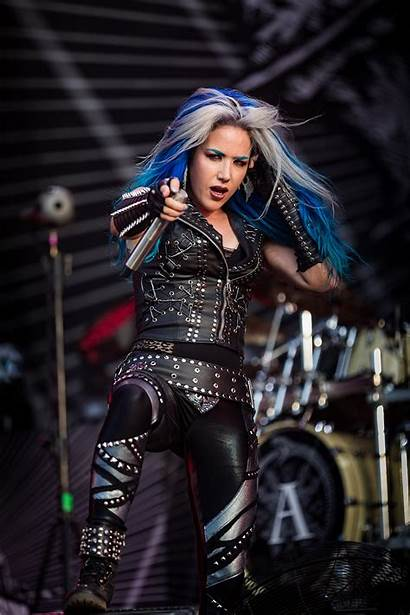 Alissa Gluz Arch Enemy Metal Wacken Rock