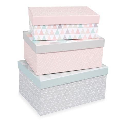 chambre ado design 3 boîtes rectangles en l19 l21 l23 cm zoé maisons