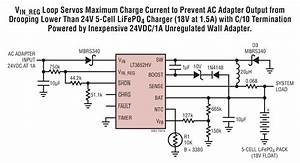 Lt3652hv Wall Adapter To 5