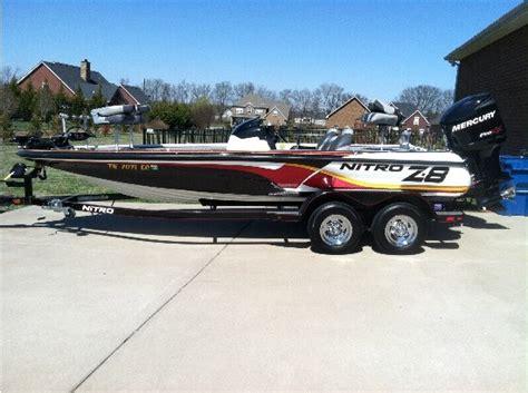 Nitro Bass Boat Z8 by 2011 Nitro Boats For Sale