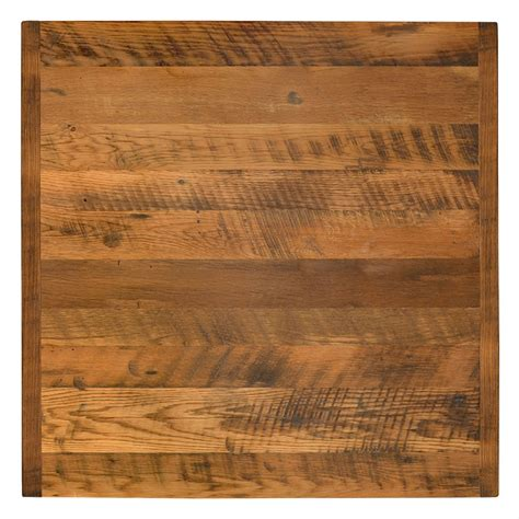 table 60x60 cuisine 30 quot x 72 quot reclaimed wood restaurant table top