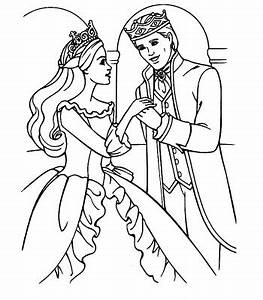 Disney Coloring Pages : Ken and Barbie Wedding