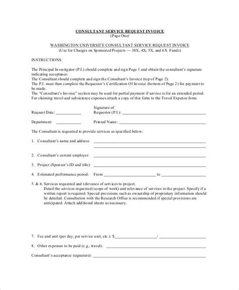 sample service invoice  documents   word docs