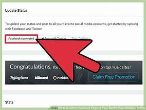 How to Add a Facebook Page to Your Band's ReverbNation Profile