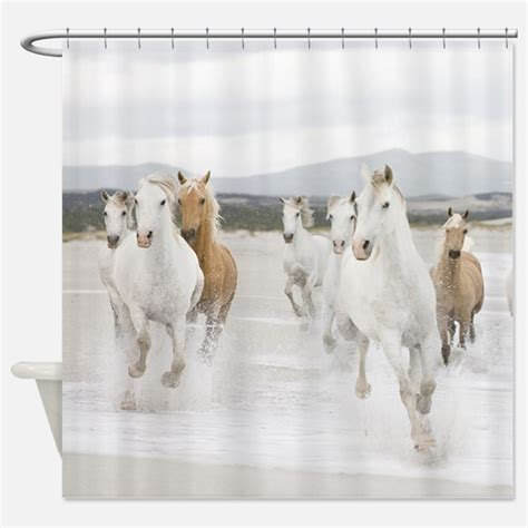equine shower running shower curtains running fabric