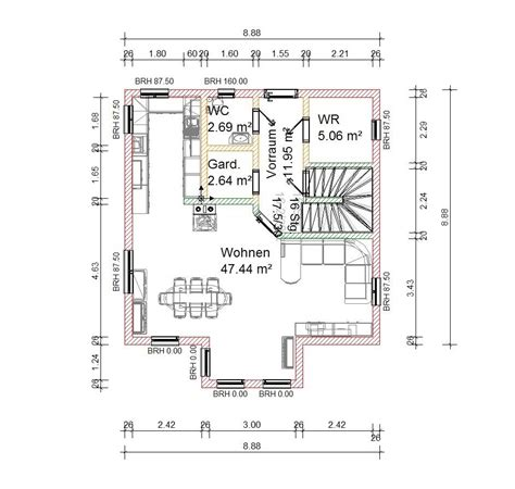Plan Haus Zeichnen