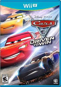 Cars 3 Driven To Win For Wii U Nintendo Game Details