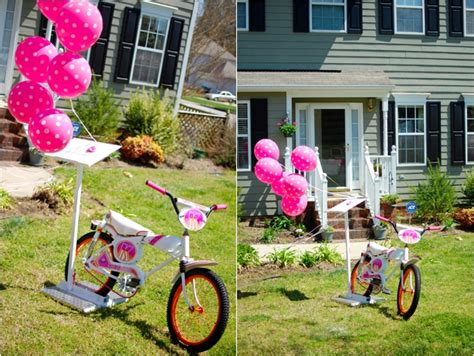Baby Shower Style + Vintage Bicyclethemed Party
