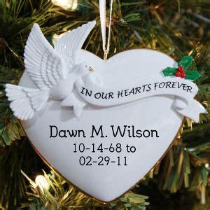 loving memory ornaments memorial ornaments