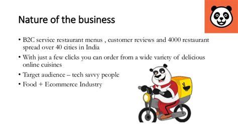 marketing strategy of food panda