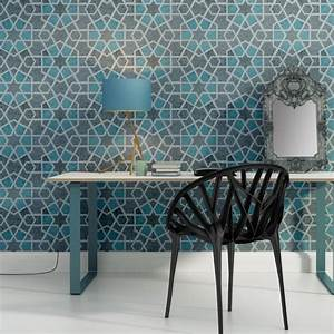 Geometric Wall Stencil Paige for DIY project Home Decor ...