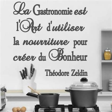 dicton cuisine stickers stickers muraux citations