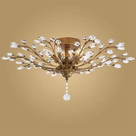 modern crystal light fixtures compare prices on crystal ceiling fans online shopping