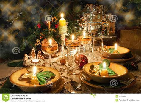 christmas dinner table  christmas mood royalty
