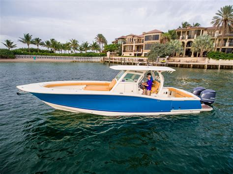 Scout Boats 350 Lxf For Sale by 2014 Used Scout Boats 350 Lxf Saltwater Fishing Boat For