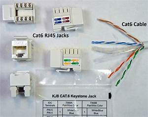 Rj45 Wiring Cat 6 Cable Diagram