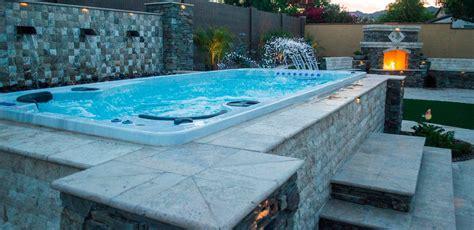 swim spa installation ideas bradys pool spa