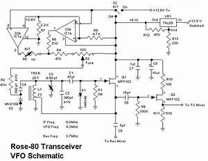 5 Watt  80 Meter Qrp Cw Transceiver Under Transceiver