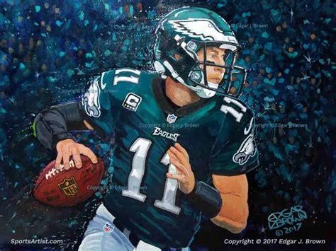 sports art paintings  sports artist edgar  brown
