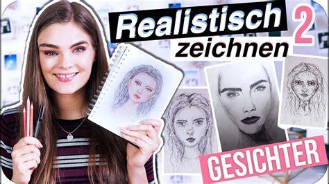 gesichter realistisch zeichnen portrait tutorial tipps