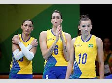 Voleibol femenino lo mejor de Brasil vs China FOTOS