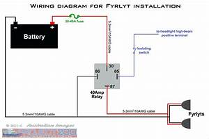 12v 5 Pin Relay Wiring Diagram Driving Lights How To Wire